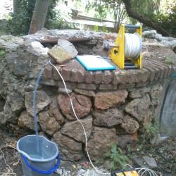 Estudio de viabilidad para la rehabilitación de un pozo antiguo en los jardines de la calle Marianao (Barcelona)