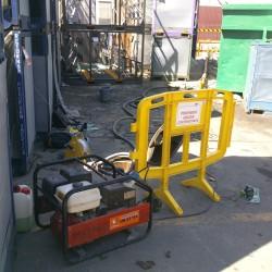 Seguimiento de la eficiencia de dos pozos en las instalaciones de SMP en Polinyà (Barcelona)